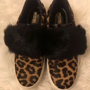 BACK IN STOCK! MK Cheetah Slip On Sneakers